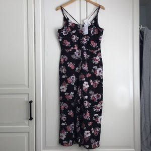 🍉2 for $30🍉 Ripe Floral Print Jumpsuit